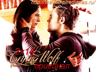 Watch on-line Vampire Diaries 2.14: Crying Wolf