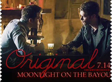 Watch on-line Vampire Diaries 7.14: Moonlight On The Bayou