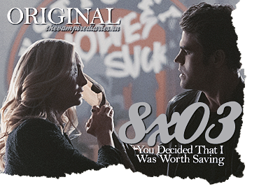 Watch on-line Vampire Diaries 8.03: You Decided That I Was Worth Saving