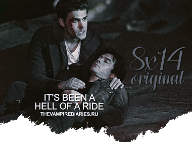 Watch on-line Vampire Diaries 8.14: It's Been a Hell of a Ride